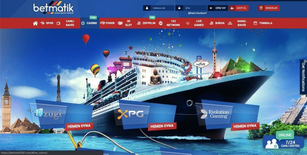 Betmatik casino 1024x519 - Betmatik Bonusları ve Promosyonları