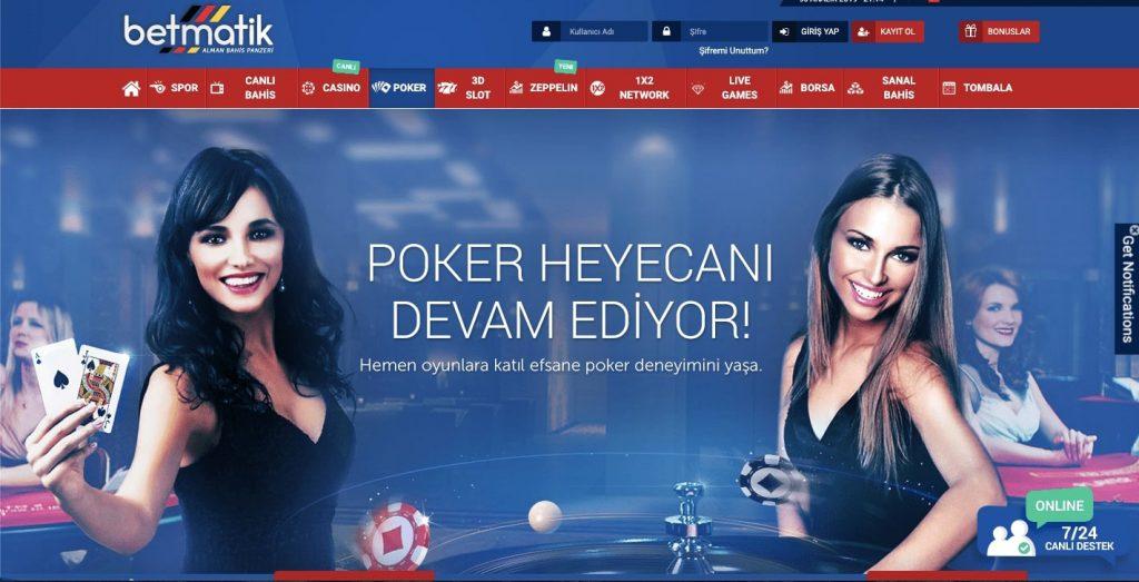 Betmatik poker 1024x523 - Betmatik Kredi Kartı ile Para Çekme Yatırma